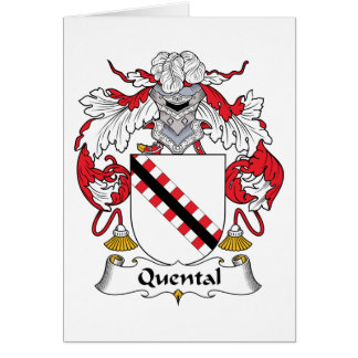 Quental Family Crest Cards