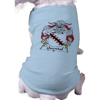 Quental Family Crest Doggie Tshirt