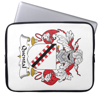 Quental Family Crest Laptop Sleeve