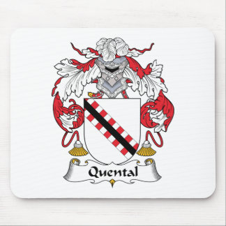 Quental Family Crest Mouse Mats