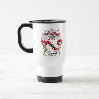 Quental Family Crest Mugs