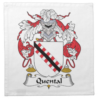 Quental Family Crest Napkin