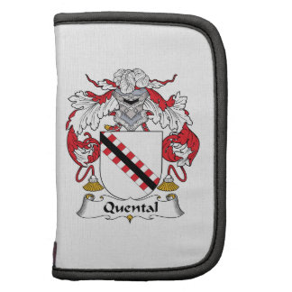 Quental Family Crest Folio Planners