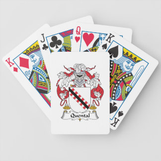 Quental Family Crest Bicycle Playing Cards