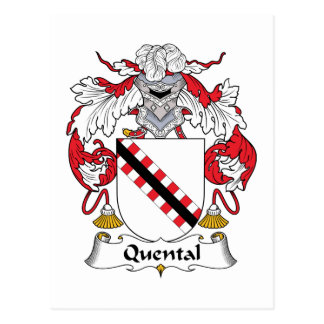 Quental Family Crest Postcards
