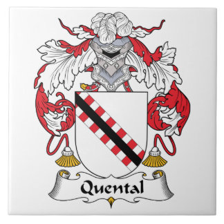 Quental Family Crest Tiles
