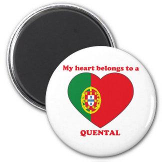 Quental 6 Cm Round Magnet