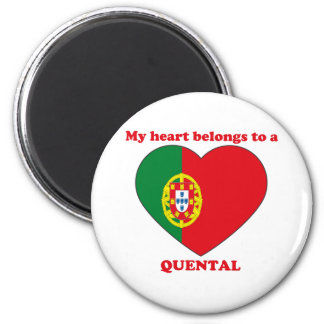 Quental Fridge Magnet