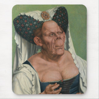 Quentin Massys, The Ugly Duchess, ca 1525 Mouse Mat