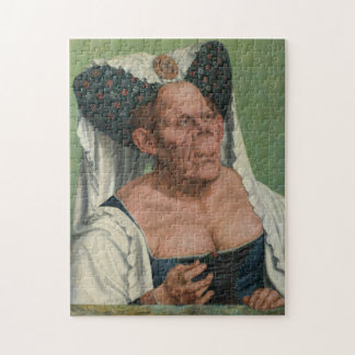 Quentin Massys, The Ugly Duchess, ca 1525 Puzzle