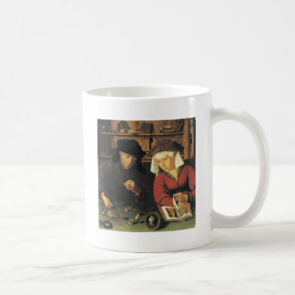 Quentin Metsys Money Changer and his Wife, 1514 Coffee Mug