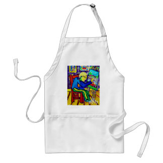 Quentin Painting by Piliero Adult Apron