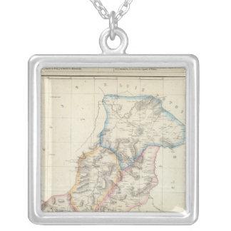 Queretaro, Mexico Silver Plated Necklace