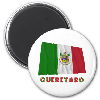 Querétaro Waving Unofficial Flag Magnet