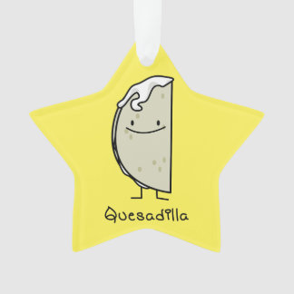 Quesadilla Mexican grilled Tortilla with Cheese Ornament