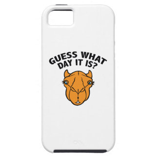 Quess What Day It Is? iPhone 5 Covers