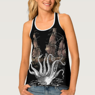 quest for the octopus tank top