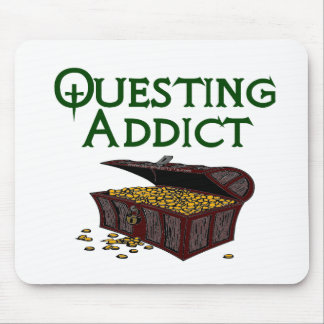 Questing Addict Mouse Pad