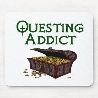 Questing Addict Mouse Pad