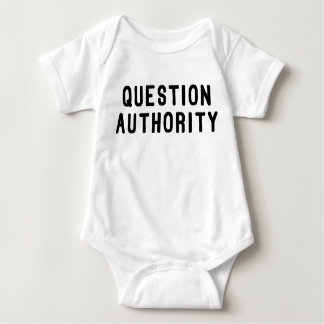 Question Authority Tees
