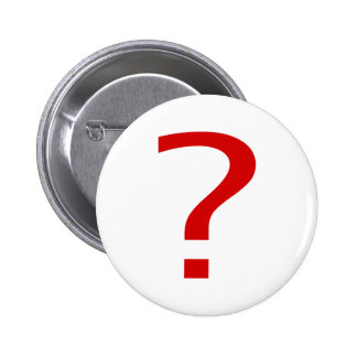 Question Mark 6 Cm Round Badge