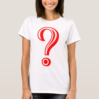Question Mark Chiseled T-Shirt