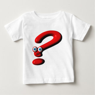 Question Mark Face Baby T-Shirt