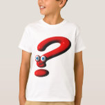 Question Mark Face T Shirts