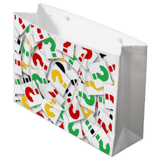 Question Mark Gift Bag