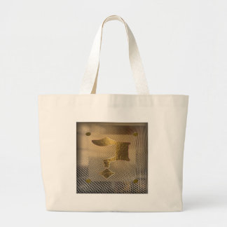 Question mark large tote bag
