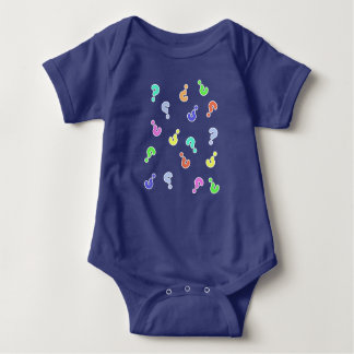 Question Marks Funky Baby / Toddler Bodysuit