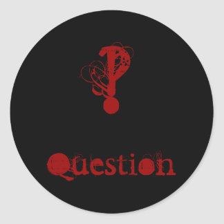 Question Sticker