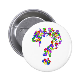 Question This 6 Cm Round Badge