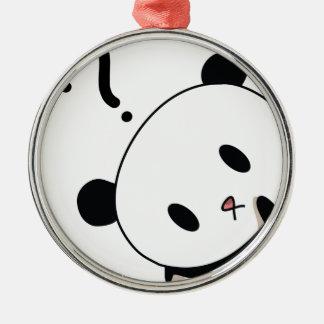 question time panda christmas ornament