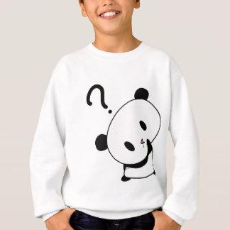 question time panda sweatshirt