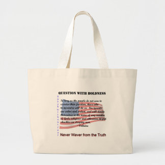 Question with Boldness Bags
