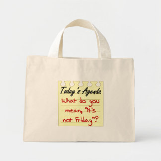 Questioning Authority Mini Tote Bag