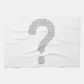 Questioning Tea Towel
