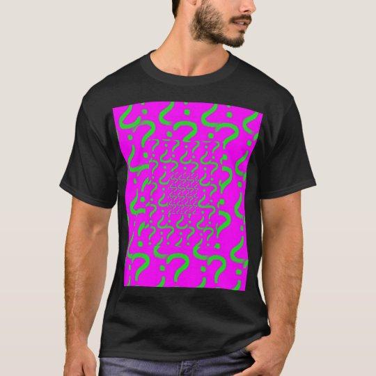 Questionmark, Questionmark, Questionmark T-Shirt