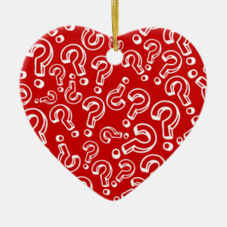 Questions Christmas Ornament
