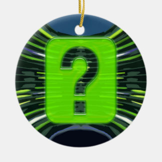 QUESTIONS environmental global warming NVN249 Christmas Tree Ornament