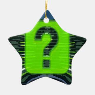 QUESTIONS environmental global warming NVN249 Ornament