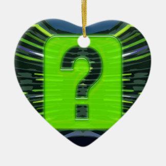 QUESTIONS environmental global warming NVN249 Christmas Ornament