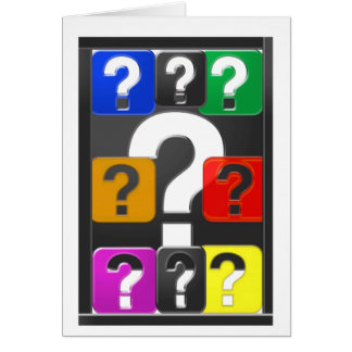 QUESTIONS Symbol Cards,Magnet,Button,KeyChain GIFT
