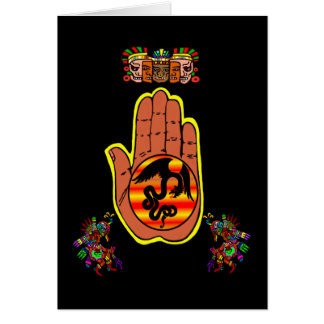 Quetzacotl Hand card