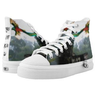 Quetzal in Tikal Printed Shoes