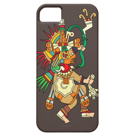 Quetzalcoatl Dancing - Customisable iPhone 5 Cover