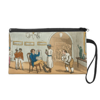 Qui Hi in the Bombay Tavern, from 'The Grand Maste Wristlet Purses