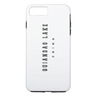 Quiandao Lake China iPhone 7 Plus Case