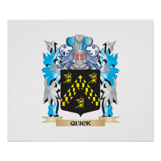 Quick Coat of Arms - Family Crest Poster